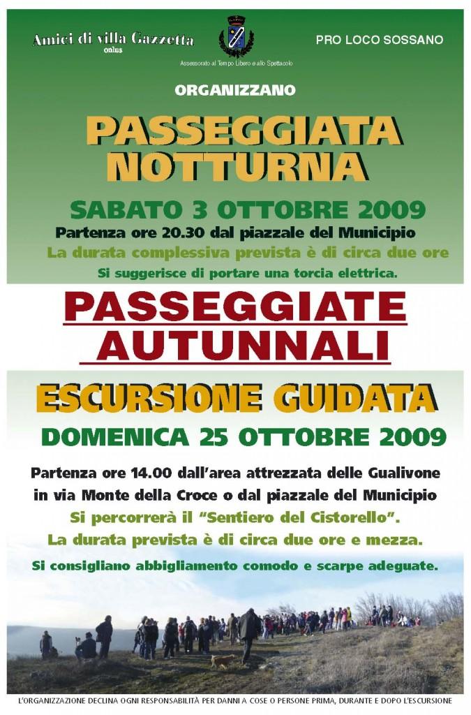 Locandina passeggiate ott'09
